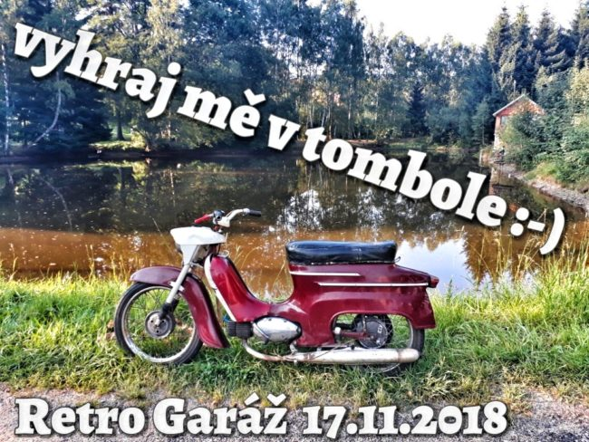 702eed1b3 I na letošní Retro Garáži se můžete těšit na oblíbenou VETERÁNSKOU TOMBOLU,  ve které máte možnost vyhrát opravdu hodnotné ceny, kterých jsme pro Vás ...